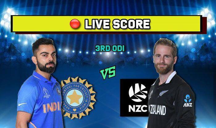 India Vs New Zealand 3rd ODI 2020| Match Score Card| New Zealand Won by 5 Wickets