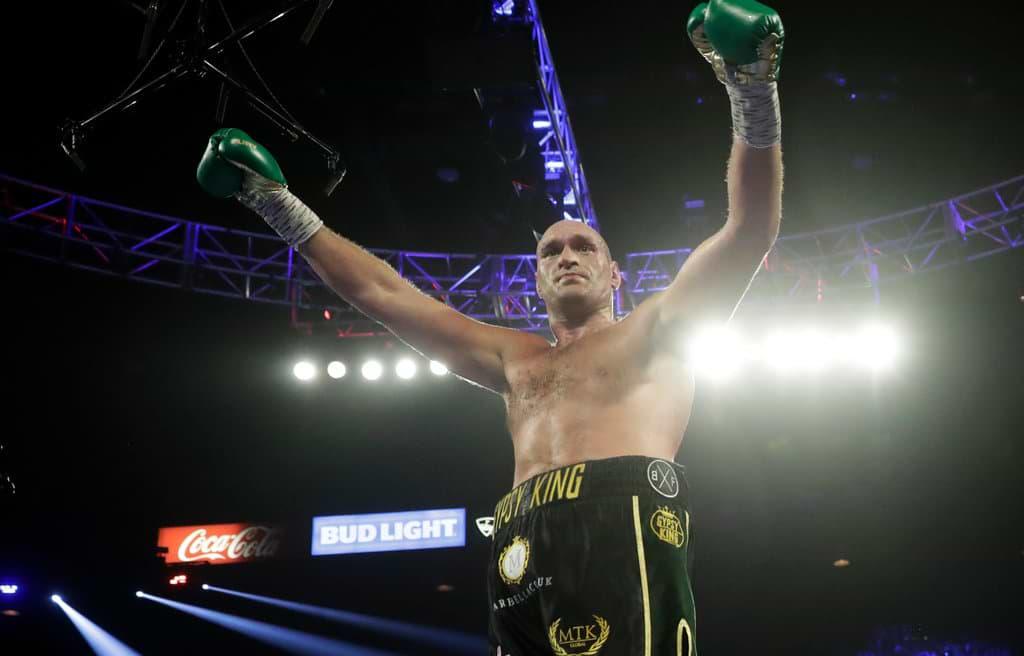 Tyson Fury Beat Deontay Wilder