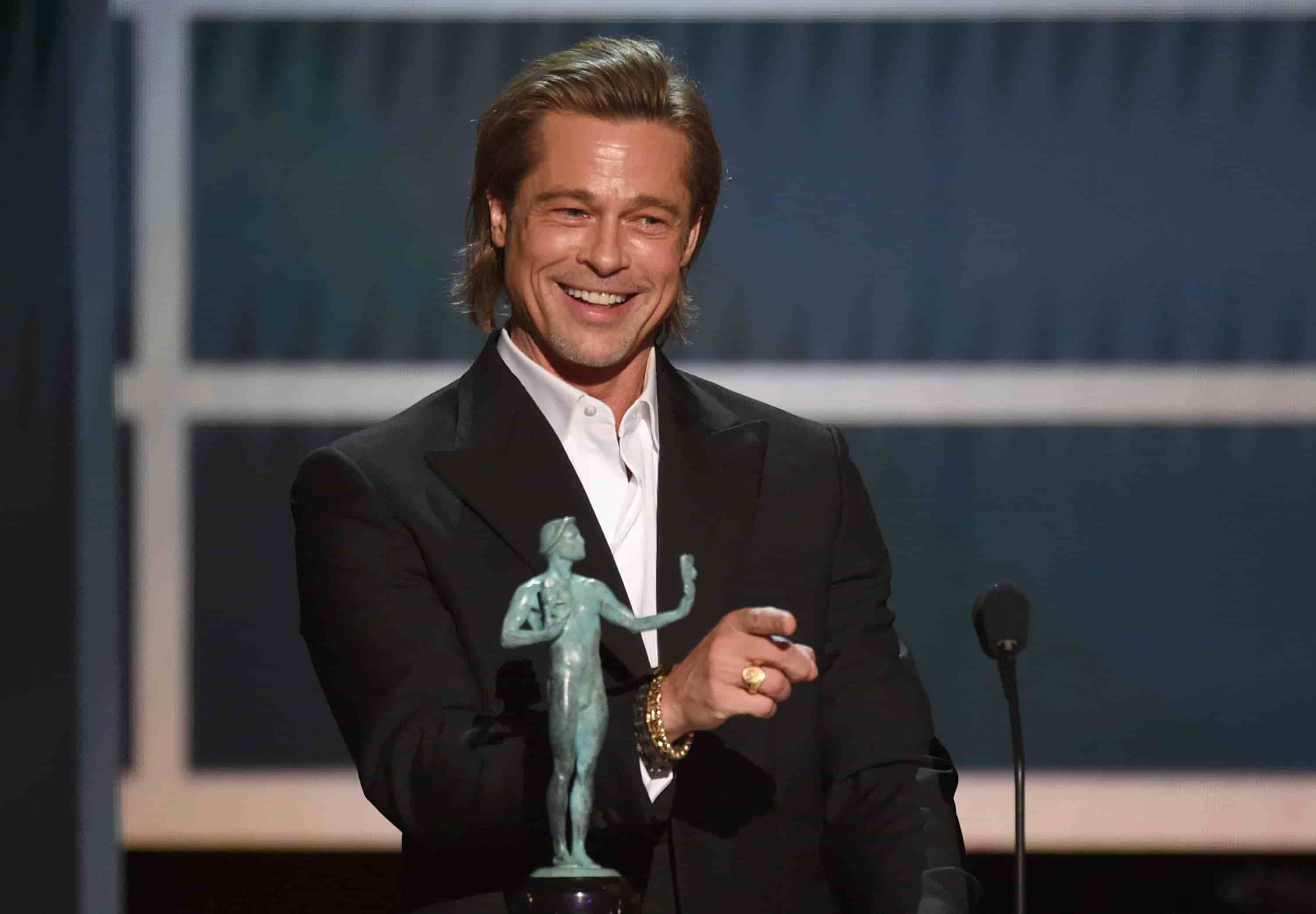 92 Academy Award 2020| Brad Pitt| Best Supporting Actor| Oscar Award 2020