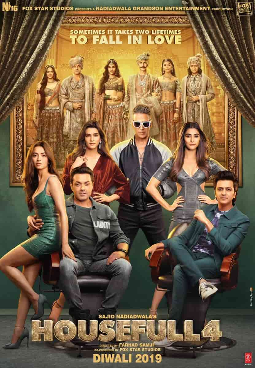 Housefull 4 Bollywood Movie Download Leaked By TamilRockers, Movierulz 300mb Movies