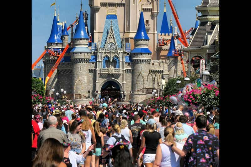 Walt Disney Theme Park Closed for Coronavirus Precautions Remain March