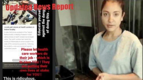 Anushka Sharma said on Indore accident