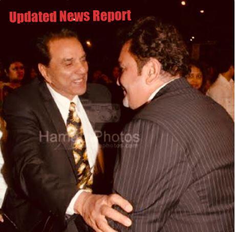 Dharmedra and Rishi Kapoor