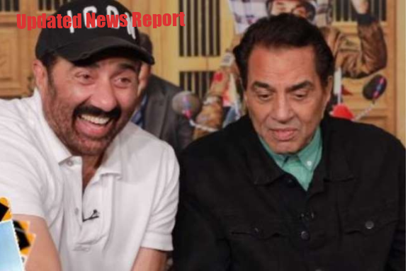 Sunny Deol broke down with a pillow on Dharmendra