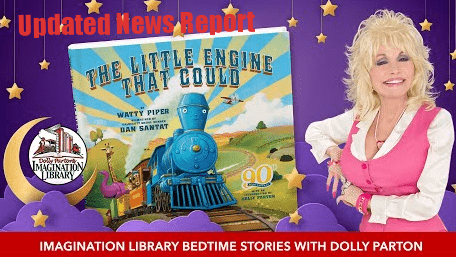 Dolly Parton Start a New Live Show Series of Reading Bed Time Stories