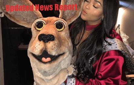 Jordyn-remove-kangaroo-mask-in-The-Mask-Singer