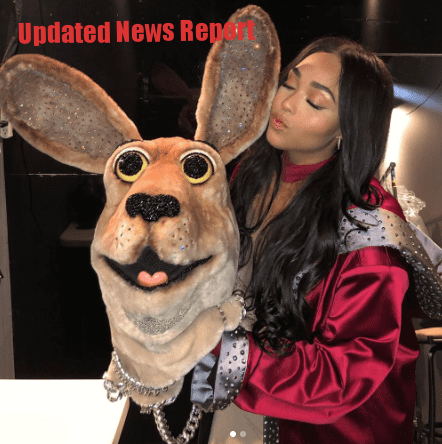 Jordyn Woods Removed Her Kangaroo Mask in The Mask Singer Episode