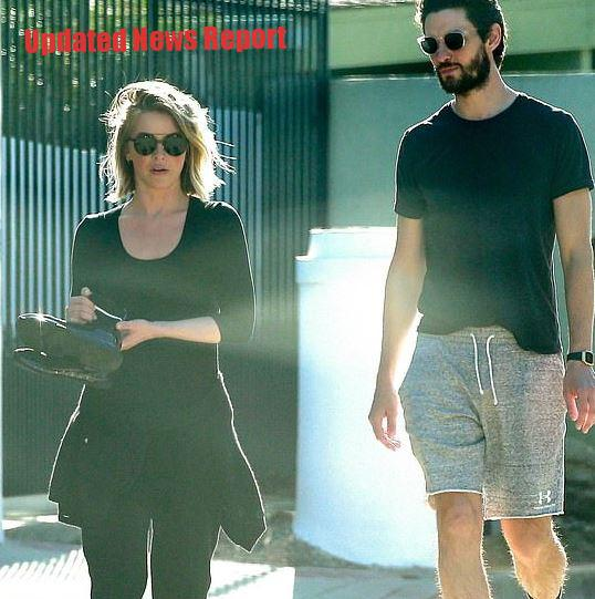 Julianne Hough Spotted With Actor Ben Barnes in Quarantine without Husband