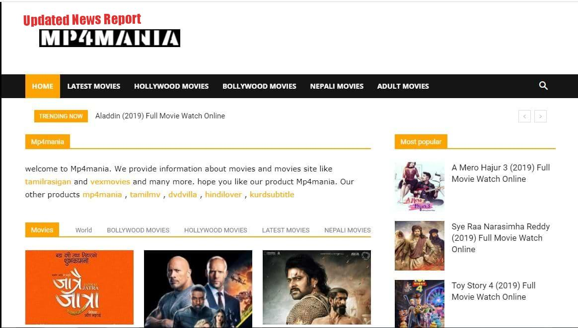 MP4Mania Download Movies