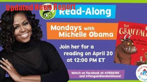 Michelle-obama-read-kids-book-in-live-streaming