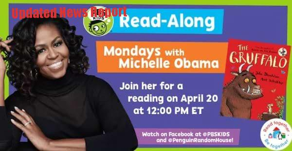 Michelle Obama Read Kids Picture Books in Live Streaming