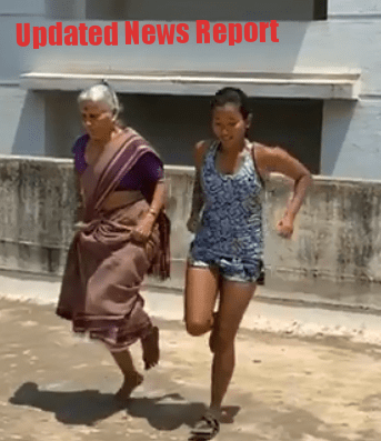 Milind Soman's 80 year Old Mother Workout with Wife Ankita