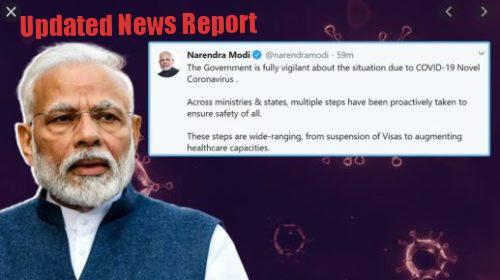 PM Modi Tweet Against Corona Virus