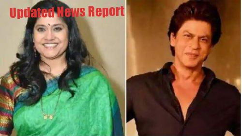 Shahrukh Khan and Renuka Shahane