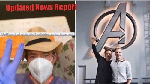 Superhero IronMan Robert Downey Jr. remembers his friends and relatives