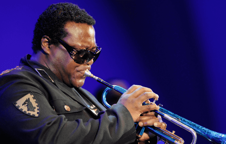 IMG WALLACE RONEY, Jazz Trumpeter