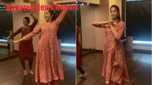 janhavi kapoor dance