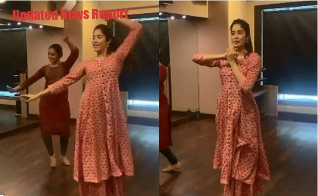 The classic dance video by Janhavi Kapoor went viral