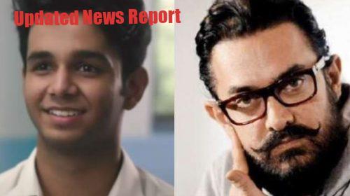 Aamir's heart came on 'Flames' fame Ritvik's short film