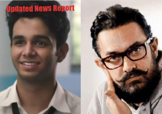 Aamir's heart came on 'Flames' fame Ritvik's short film