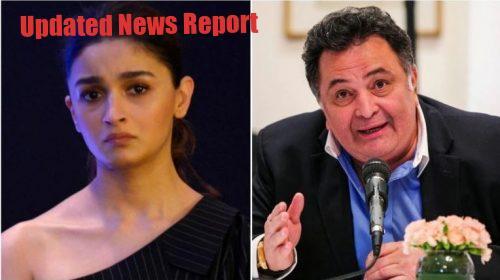 Alia and Rishi Kapoor