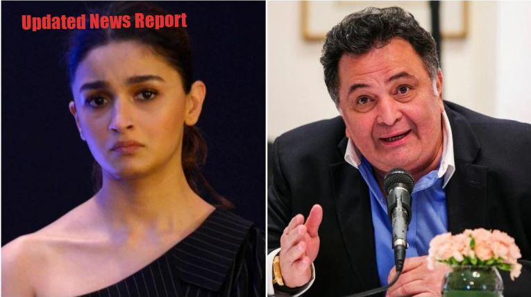 Alia and Rishi Kapoor