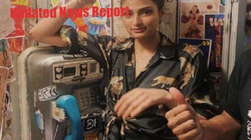 Athiya Shetty cropped KL Rahul with her photo