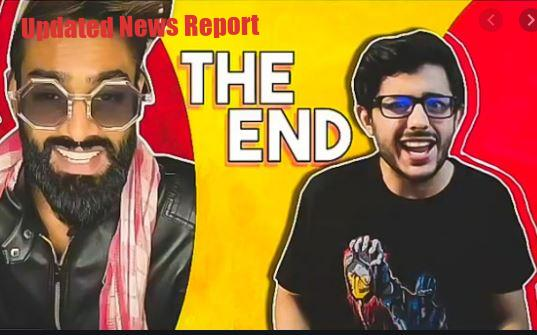 Hindustani Bhau landed in support of CarryMinati, deleted his TikTok account