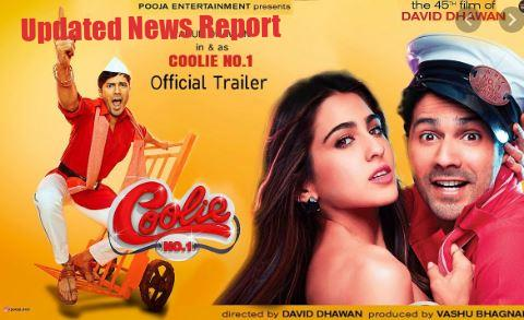 Coolie No. 1 Bollywood Movie (2020) Release Date, Star Cast & Trailer