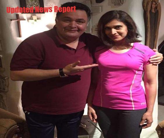 'Damini' actress Meenakshi Seshadri pays tribute to Rishi Kapoor