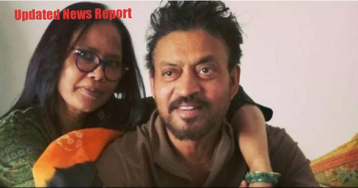 Irrfan Khan's Wife