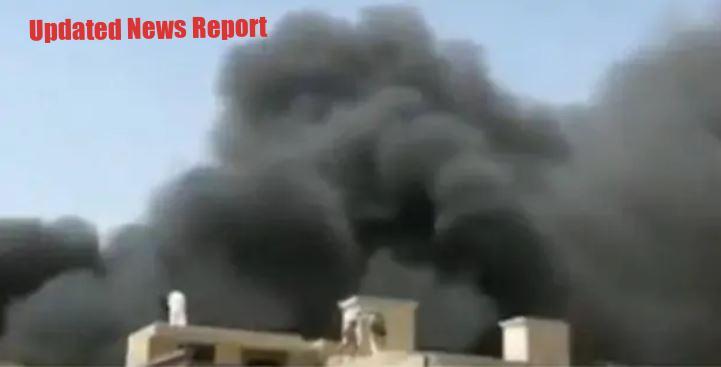 Big plane crash in Pakistan, plane falls in residential area