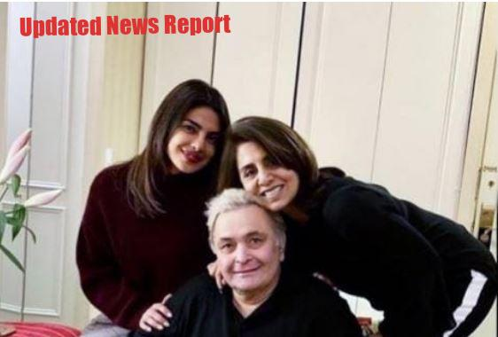 Priyanka Chopra remembers Rishi Kapoor, Said-  He brought a new era of romance