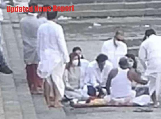 Rishi Kapoor's bones immersed, Ranbir - Neetu Kapoor and Alia worship with Riddhima