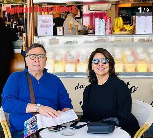 Rishi Kapoor and Nitu Kapoor