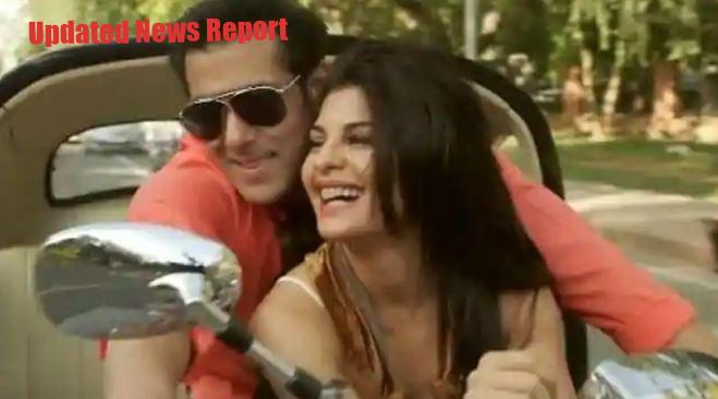 Jacqueline Fernandez was seen riding bike with Salman Khan