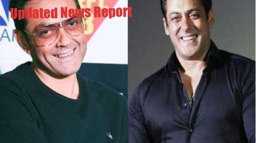 Salman Khan liked Bobby Deol's video for Corona Warriors
