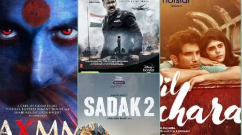 Disney HotStar: These 7 big films will come in 4 months including 'Laxmi Bomb', 'Bhuj' and 'Dil Bechara'