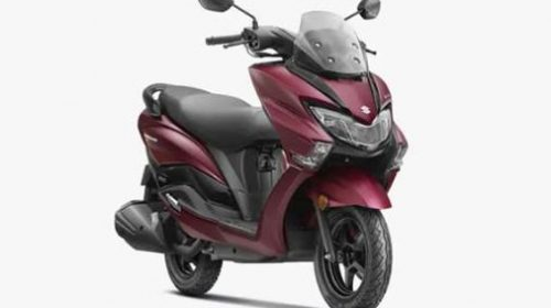 Buying this BS6 maxi scooter from Suzuki becomes expensive