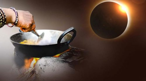 After solar eclipse what to do