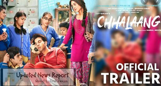 Chhalaang Amazon Prime Movie Leaked By Filmywap