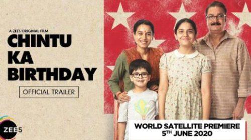 Download Chintu Ka Birthday ZEE5 Hindi Movie Leaked By Filmyzilla