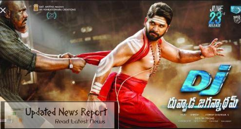 Download DJ: Duvvada Jagannadham Telugu Movie On Tamilrockers