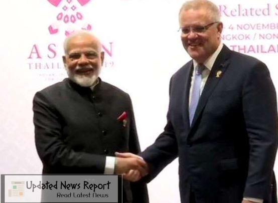 Virtual summit meeting between PM Modi and Australian Prime Minister Scott Morrison today