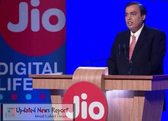 Announcement of another major investment in Jio Platforms