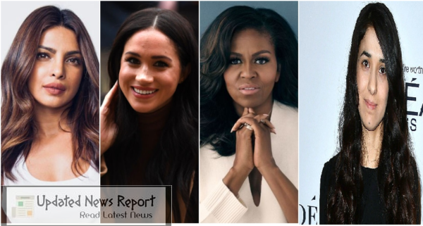 Priyanka Chopra, Michelle Obama, Meghan Markle