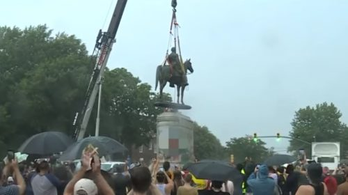 Stonewall Jackson statue has been removed