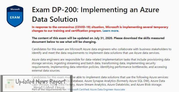 microsoft dp-200