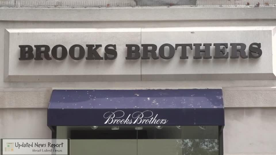 Brooks Brothers file for bankruptcy