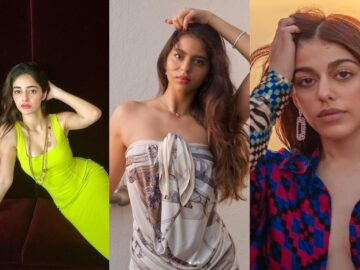 Alaya F, Ananya Panday, and Suhana Khan slew in their own way